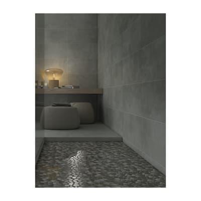 Mosaico Palladiana H 30 x L 30 cm argento