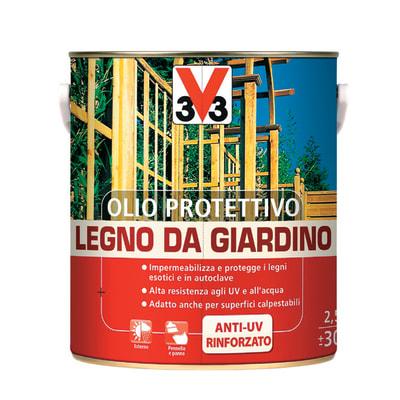 Olio protettivo V33 per esterno 2 L