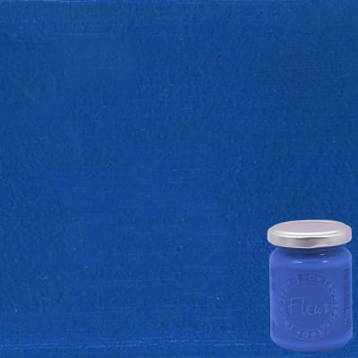Colore acrilico FLEUR Nelson blue 0.13 L blu opaco