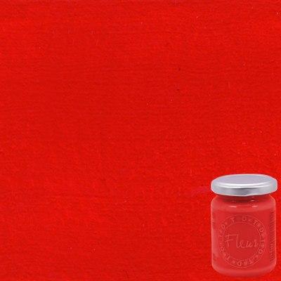Colore acrilico FLEUR Cherry lips 0.13 L rosso opaco