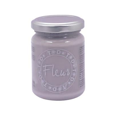 Colore acrilico FLEUR Titanium white 0.13 L bianco opaco