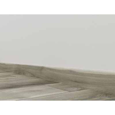 Battiscopa H 8 x L 240 cm grigio