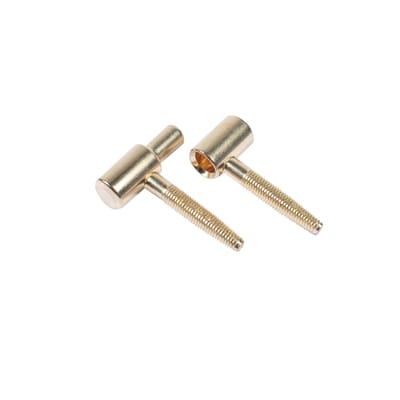 Cerniera ferro 62 x 52 mm Ø 16 mm 2 pezzi
