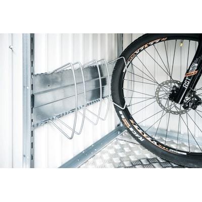 Rastrelliera bici da parete L 29 x H 100 cm