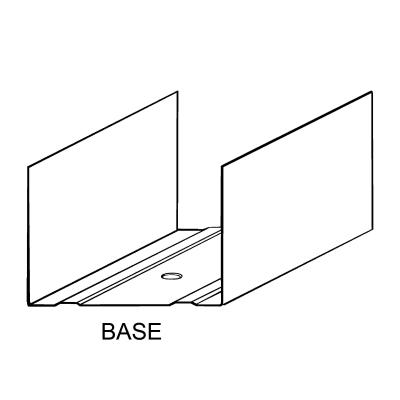Profili a u ECO 75 x 40 mm 3 m