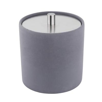 Porta cotone Apollon in cemento grigio SENSEA
