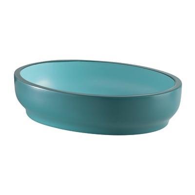 Porta sapone Basic azzurro