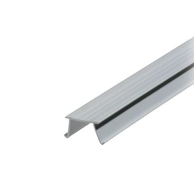 Gocciolatoio per balcone in pvc 2000 x 12 x 20 mm, 50 pezzi