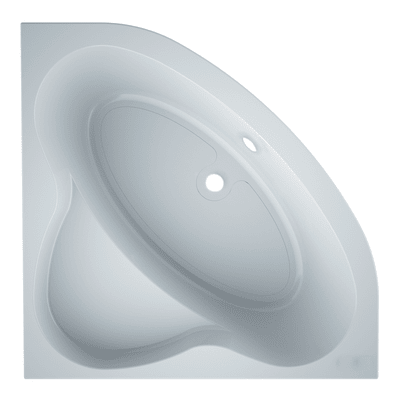 Vasca angolare Nacar acrilico bianco 130 x 130 cm SANYCCES
