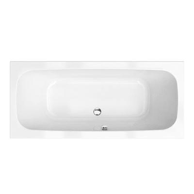Vasca rettangolare Tag bianco 80 x 180 cm