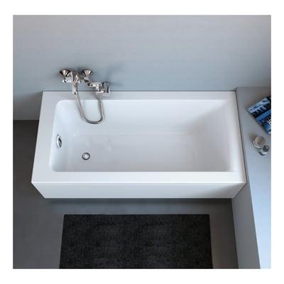 Vasca Da Bagno 120x70 Ideal Standard.Vasca Rettangolare Flower Bianco 140 X 70 Cm Ideal Standard