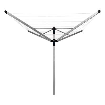 Stendibiancheria da esterno ad ombrello Lift-O-Matic Advance in alluminio L 220 cm grigio / argento