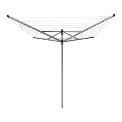 Stendibiancheria da esterno ad ombrello Lift-O-Matic in alluminio L 189 cm grigio / argento
