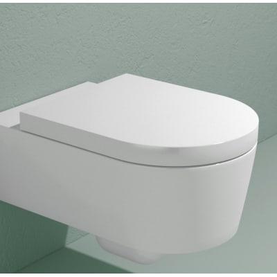 Copriwater a d Dedicato per serie sanitari 5051CW03 termoindurente bianco
