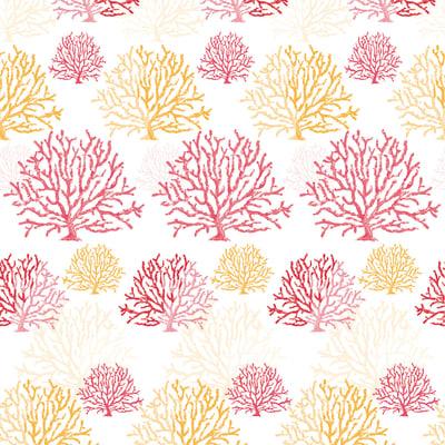 Tenda doccia Coral in vinile rosso L 180 x H 200 cm