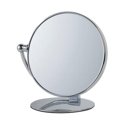 Specchio ingranditore tondo Appoggio L 23.5 x H 24 cm Ø 20 cm