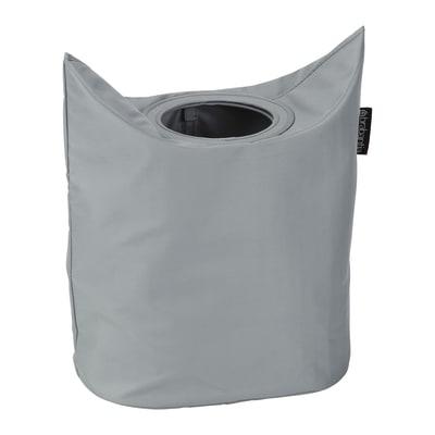 Portabiancheria Laundry Bag Oval grigio tra 50 e 60 L