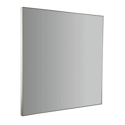 Specchio con cornice bagno quadrata Profilo L 60 x H 60 cm
