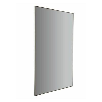 Specchio con cornice bagno rettangolare Profilo L 50 x H 90 cm