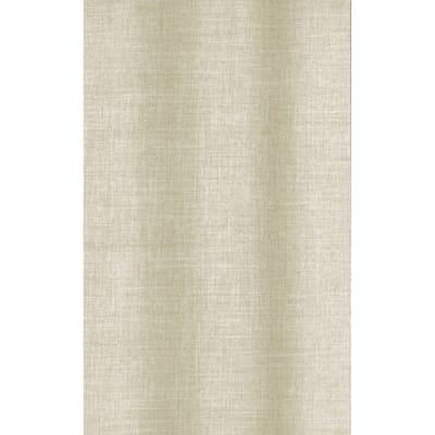 Tenda doccia Linum in poliestere beige L 180 x H 200 cm