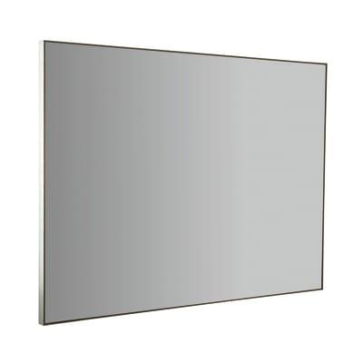 Specchio con cornice bagno rettangolare Profilo L 80 x H 60 cm
