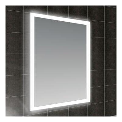 Illuminazione Specchio Bagno Leroy Merlin.Specchio Con Illuminazione Integrata Bagno Rettangolare Fog