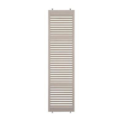 Parete divisoria in legno L 66 x H 270 cm sbiancata
