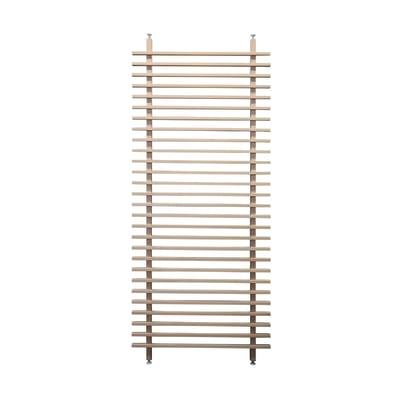 Parete divisoria in legno L 100 x H 250 cm marrone