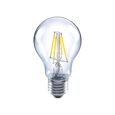 Lampadina LED filamento, E27, Goccia, Trasparente, Luce naturale, 7W=806LM (equiv 60 W), 360° , LEXMAN