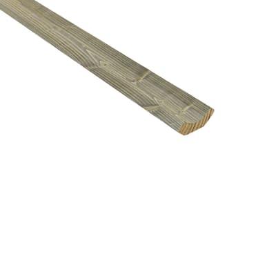Angolare in abete L 3 m x H 34 x Sp 12 mm