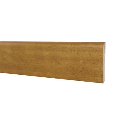 Battiscopa H 7 cm x L 2.4 m iroko