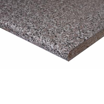 Piano di lavoro in legno granito baveno L 304 x P 60 cm, spessore 2.8 cm
