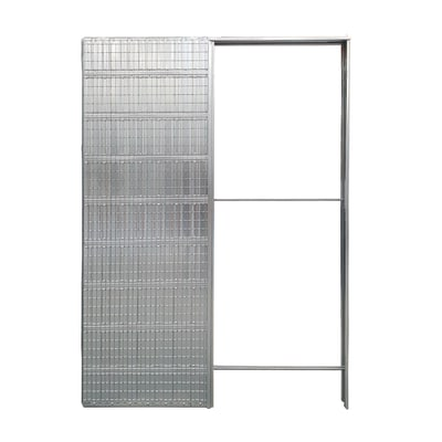 Controtelaio porta scorrevole per intonaco L 60 x H 210 cm