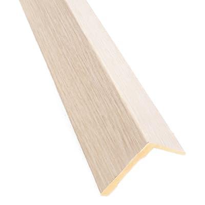 Kit coprifilo New Age 2,5 pz in legno  rovere chiaro L 2250 x P 9 x H 70 mm
