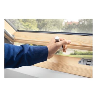 Finestra da tetto velux gpl fk08 3070 manuale l 66 x h 140 for Velux tetto in legno