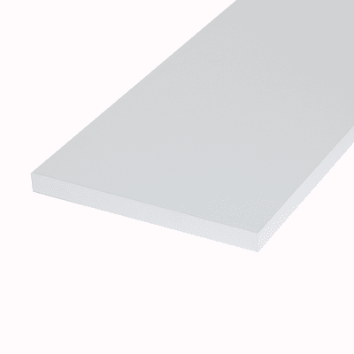 Ripiano melaminico ARTENS 100 x 30 cm Sp 18 mm , bianco