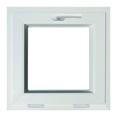Finestra in pvc bianco l 50 x h 50 cm prezzi e offerte for Sdraio leroy merlin prezzi