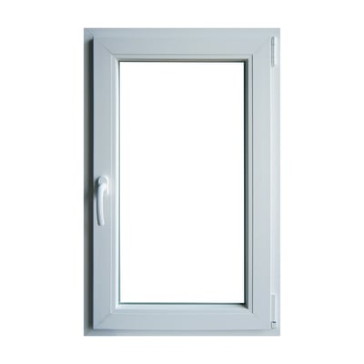 Finestra in pvc bianco L 60 x H 100 cm