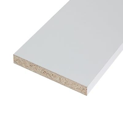 Ripiano melaminico ARTENS 250 x 30 cm Sp 18 mm , bianco
