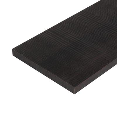 Ripiano melaminico ARTENS 100 x 40 cm Sp 18 mm , rovere scuro