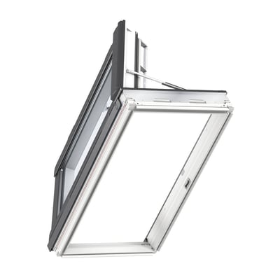 Finestra da tetto (faccia inclinata) VELUX GXL MK04 2070 manuale L 78 x H 98 cm bianco