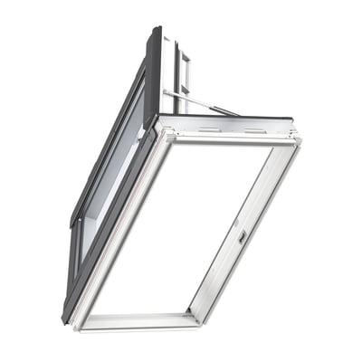 Finestra da tetto VELUX GXL MK04 2070 manuale L 78 x H 98 cm bianco