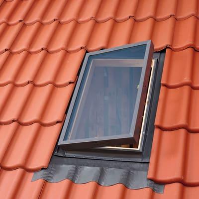 Finestra da tetto VELUX VLT 024 1000 manuale L 90 x H 48 cm bianco