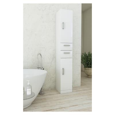 Colonna Creta L 30 x P 33.5 x H 190 cm bianco
