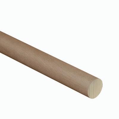 Corrimano in legno L 200 x 4.24 cm marrone<multisep/>castagno
