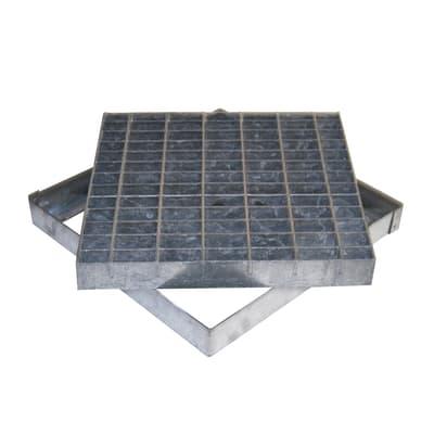 Griglia in acciaio 41 x 41 cm
