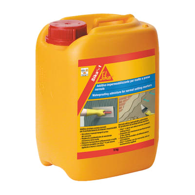 Additivo plastificante SIKA impermeabilizzante 5 L