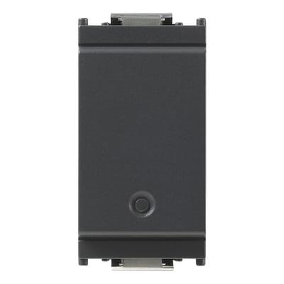 Deviatore Idea smart VIMAR grigio / argento