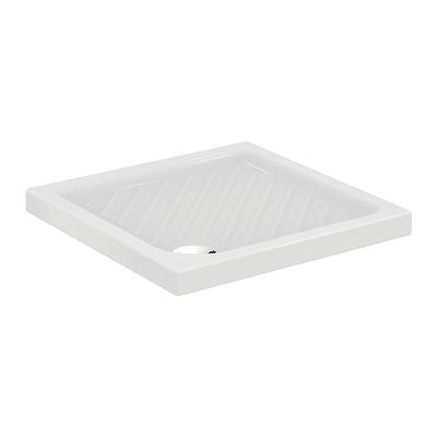 Piatto doccia ceramica Suite 80 x 80 cm bianco