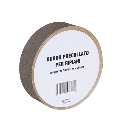 Bordo preincollato rovere 500 x 2.8 cm